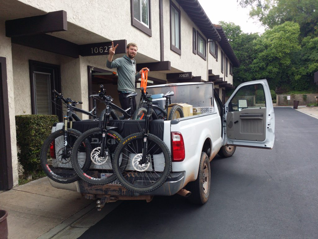 Bikes auf Pickup