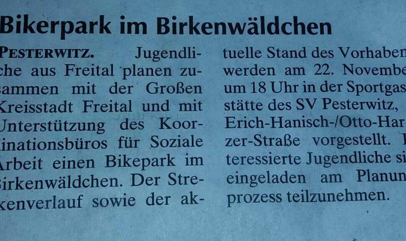 MTB in Dresden #1: Pesterwitz