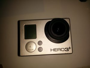 GoPro Objektiv repariert